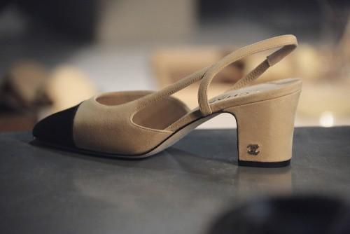 Chanel Two-Tone Shoe 23