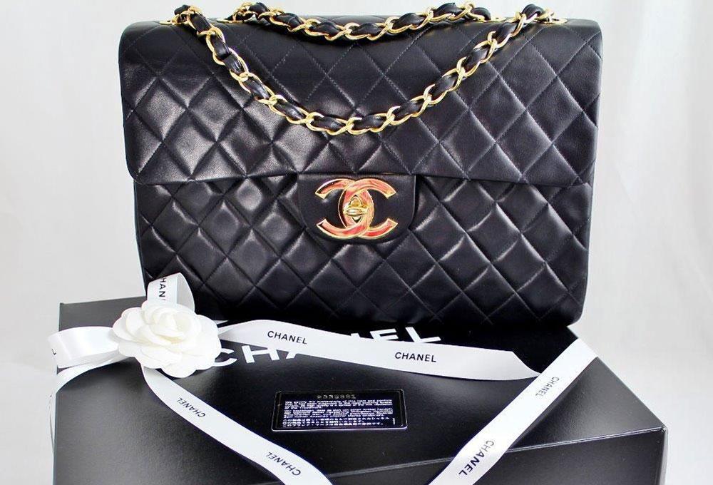 Chanel-Vintage-Maxi-Flap-Bag