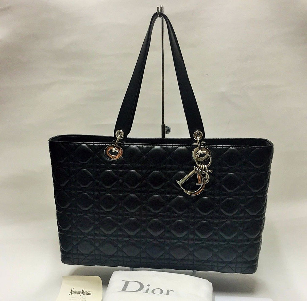 Christian-Dior-Cannage-Tote