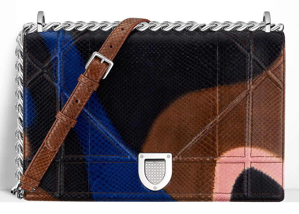 Christian-Dior-Diorama-Bag-Painted-Python-Bag