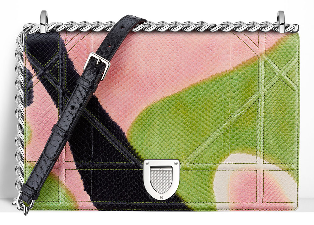 Christian-Dior-Diorama-Bag-Painted-Python-Pink