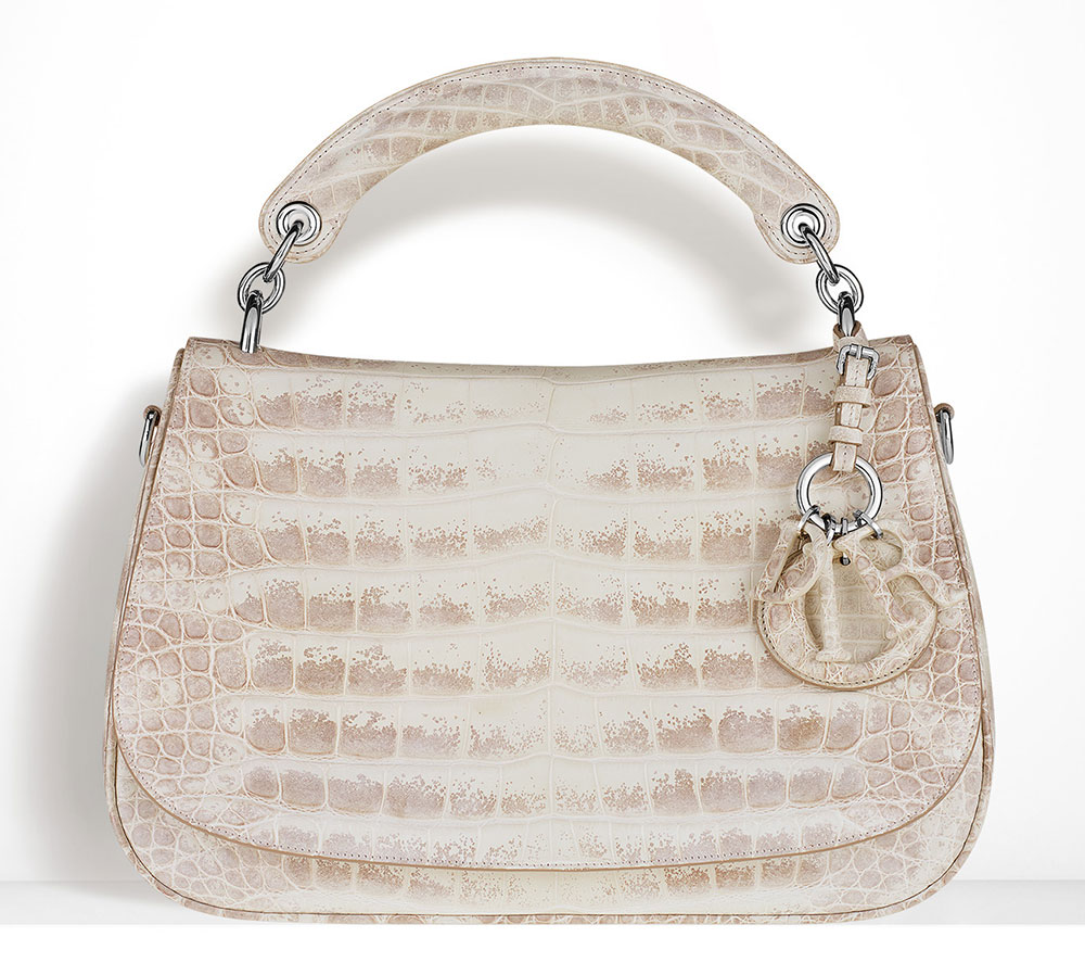 Christian-Dior-Dune-Bag-Alligator-Multi