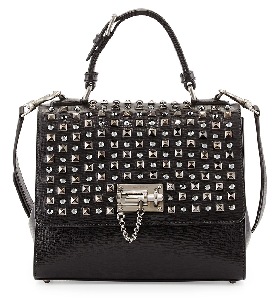 Dolce-and-Gabbana-Monica-Studded-Bag