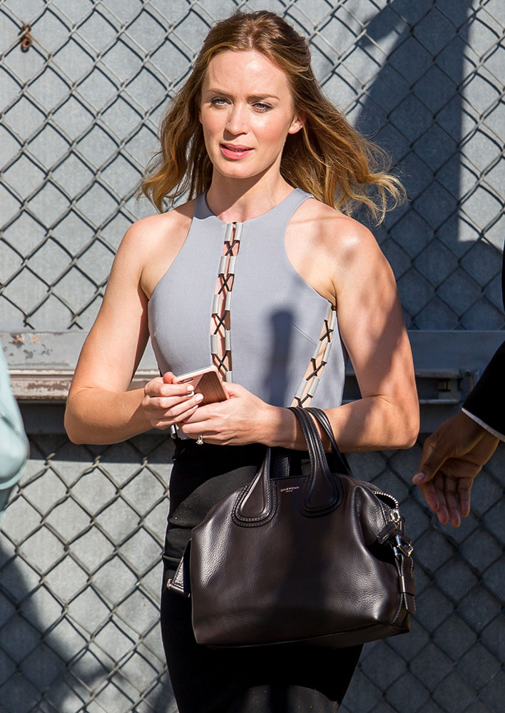 Emily-Blunt-Givenchy-Nightingale-Bag