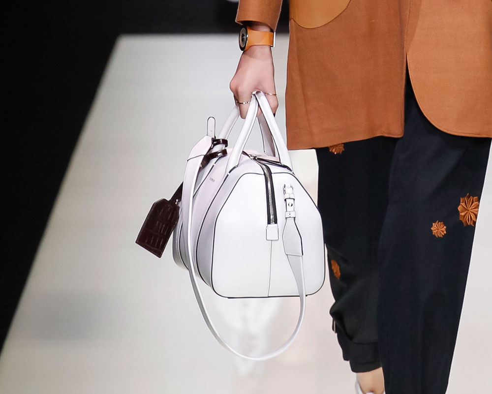 5399d282c1a7 The 25 Best Bags of Milan Fashion Week Spring 2016 - PurseBlog