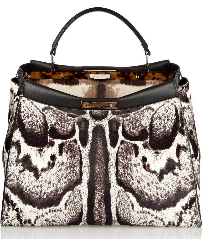 Fendi-Peekaboo-Calf-Hair-Bag