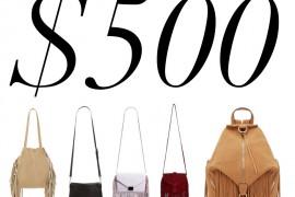 5 Under $500: Fringe Bags