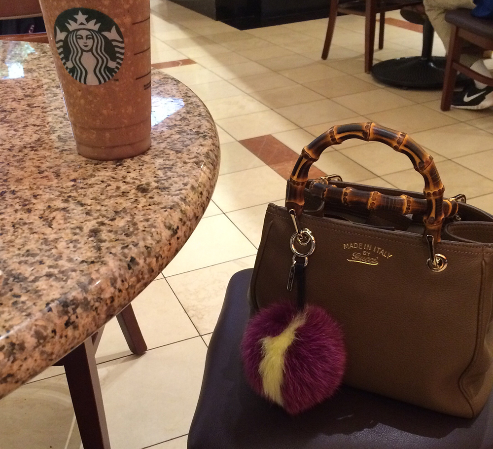 Gucci-Bamboo-Bag-and-Starbucks