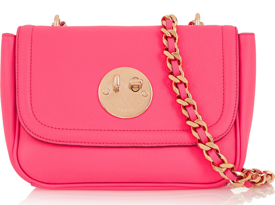 Hill-and-Friends-Happy-Chain-Shoulder-Bag-Pink