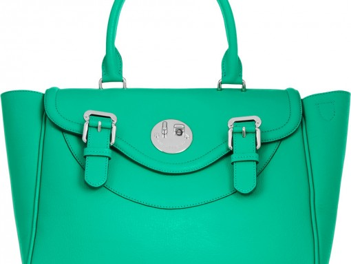 Hill-and-Friends-Happy-Satchel Green