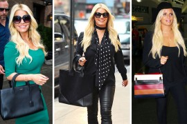 Jessica Simpson, Our New Hero, Brought No Fewer Than 8 Handbags on Her Trip to NYC