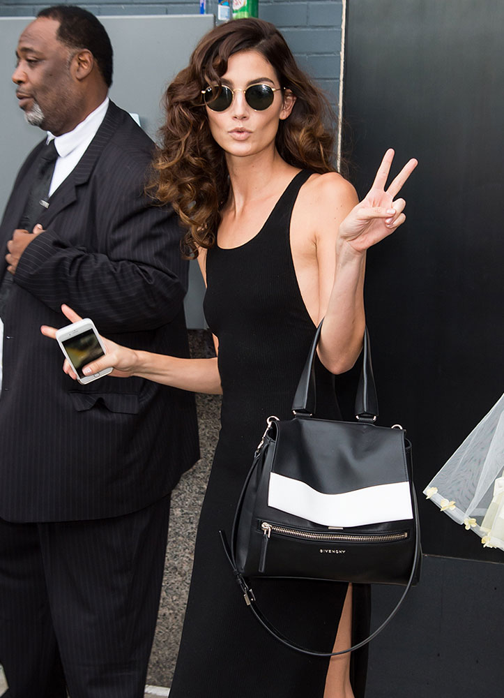 Lily-Aldridge-Givenchy-Pandora-Pure-Bag