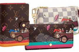 Introducing the 2015 Christmas Animation Louis Vuitton Evasion Collection