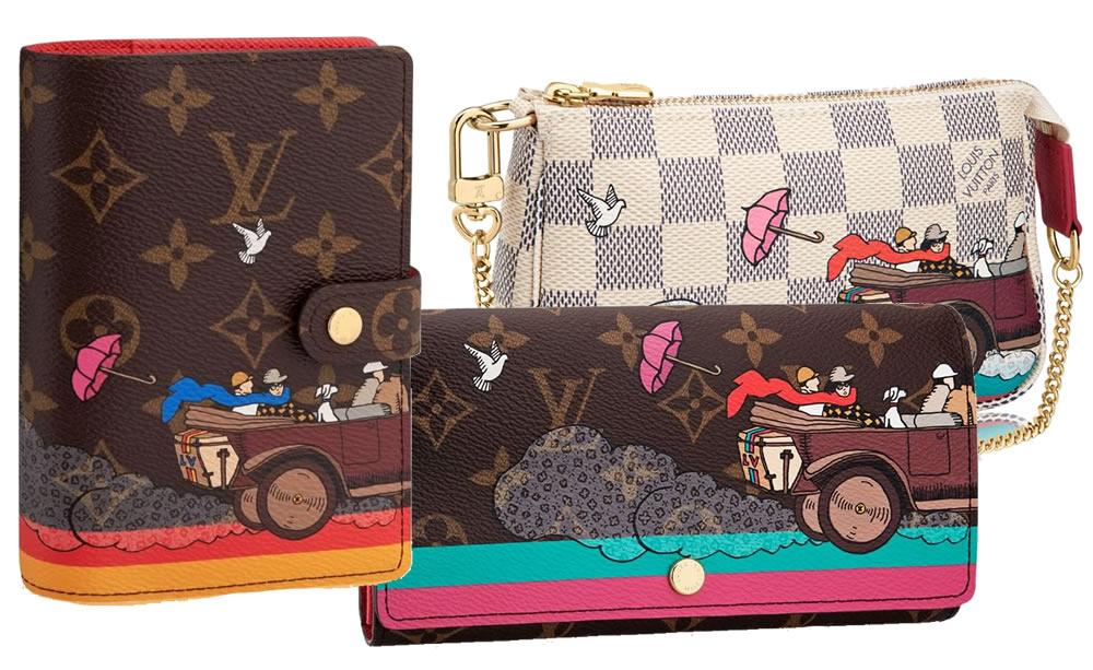 Louis Vuitton Christmas Animation Evasion Collection 2015