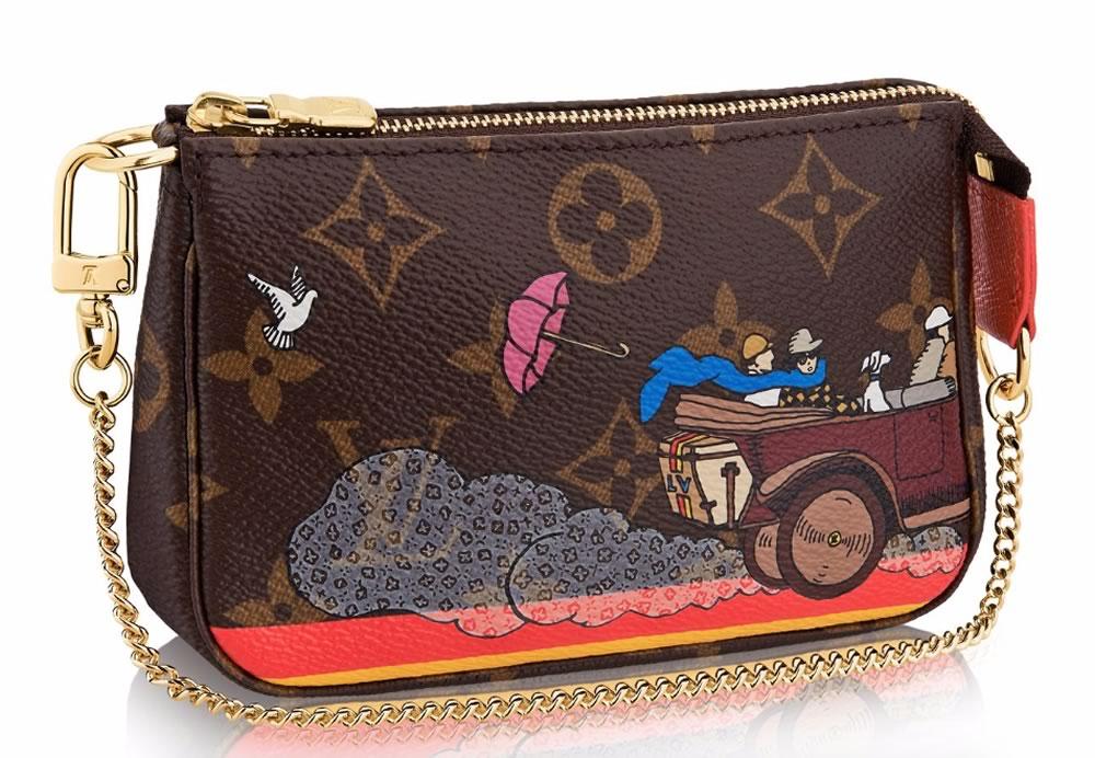 Louis Vuitton Mini Pochette Accessoires Evasion Monogram