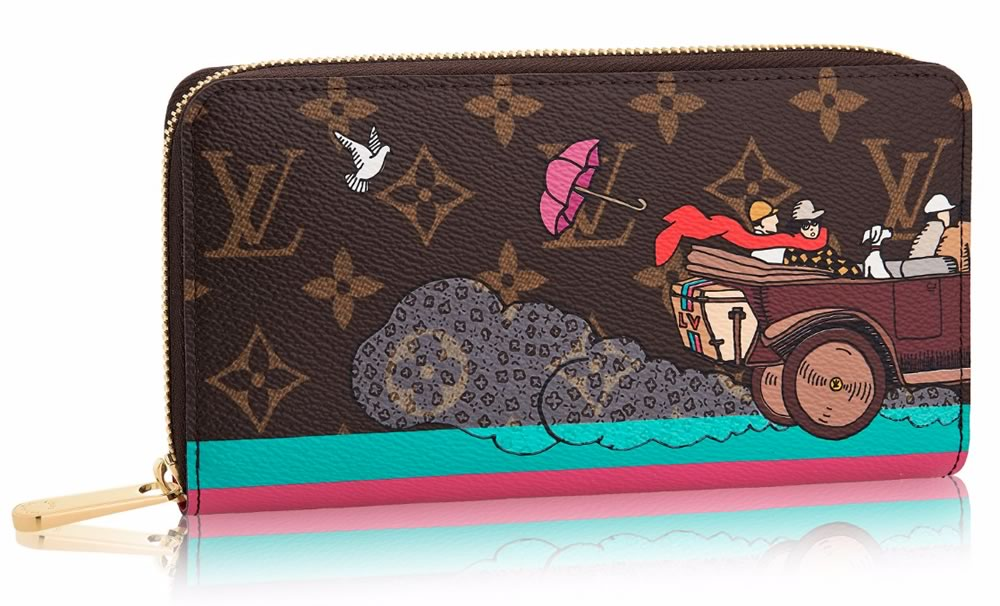 Louis Vuitton Zippy Wallet Monogram Evasion