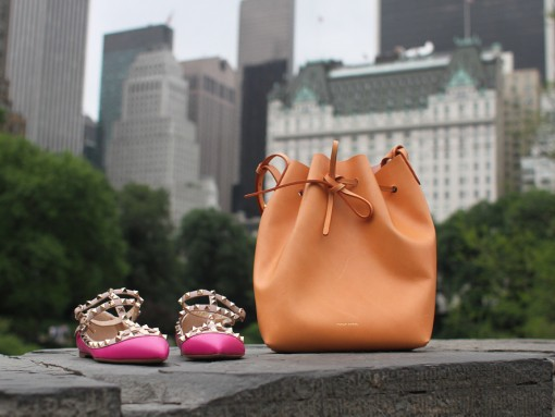 Mansur Gavriel and Valentino Shoes