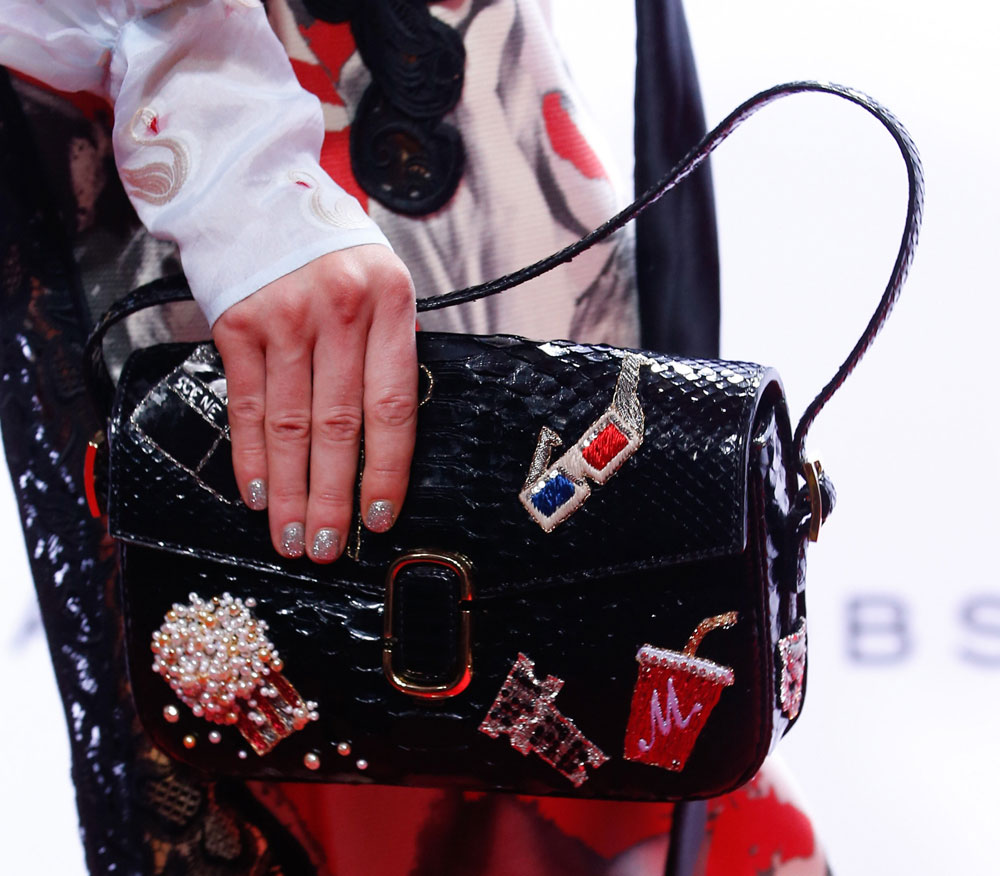 75ae42563b Marc Jacobs Debuts Beautifully Embellished Bags on His Spring 2016 ...