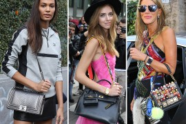 49 Bags and the Celebs Who Carried Them to Milan Fashion Week Spring 2016