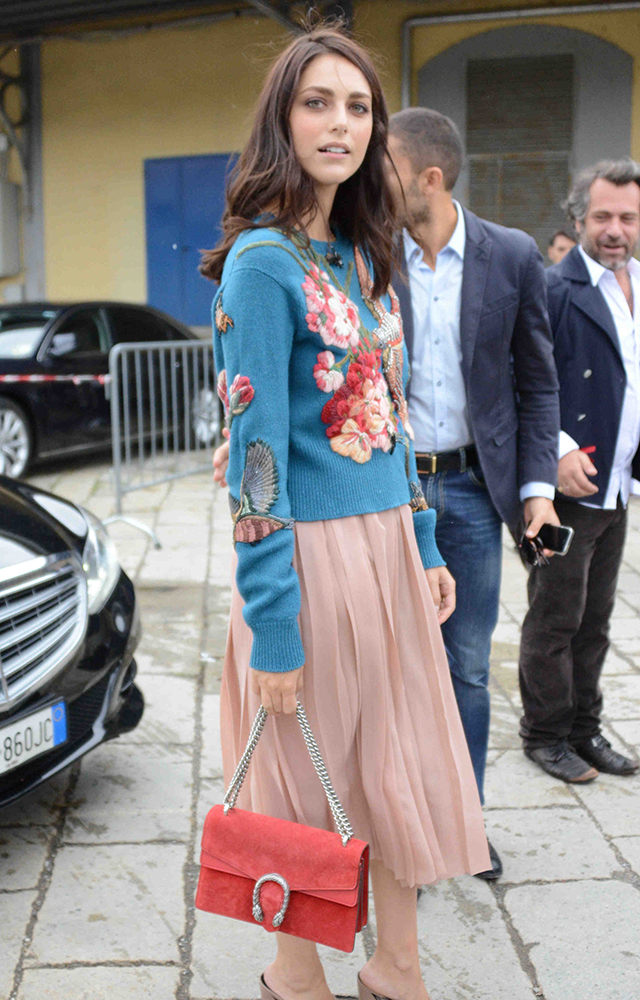 4674f85757f 49 Bags and the Celebs Who Carried Them to Milan Fashion Week Spring ...