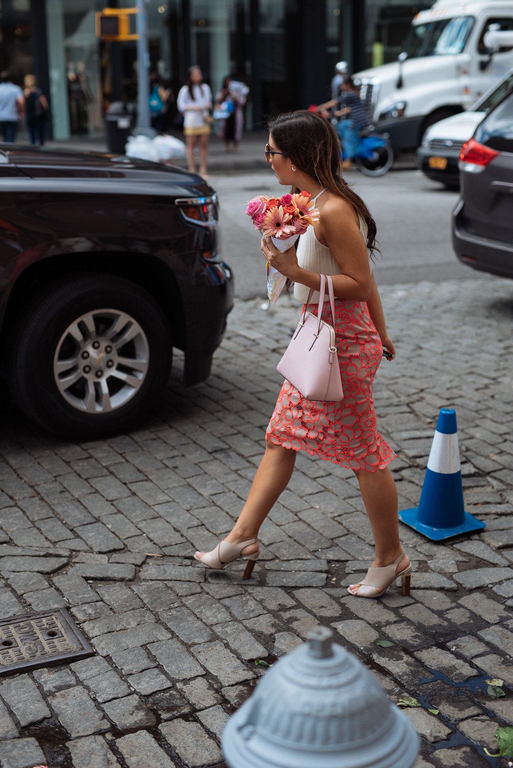 19d487ead92f The Best Bags of NYFW Spring 2016 Street Style – Days 2   3 - PurseBlog