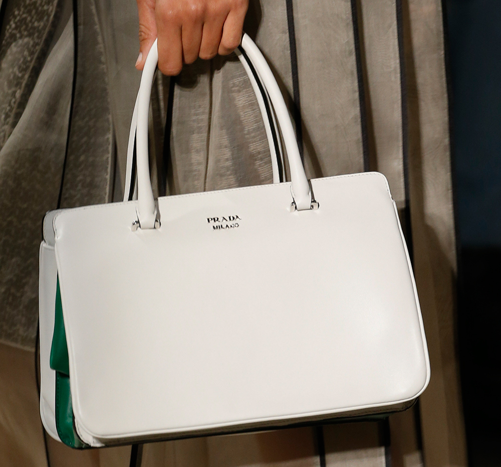 black prada bag nylon - Prada Maintains a Strong Trajectory with Its Spring 2016 Runway ...
