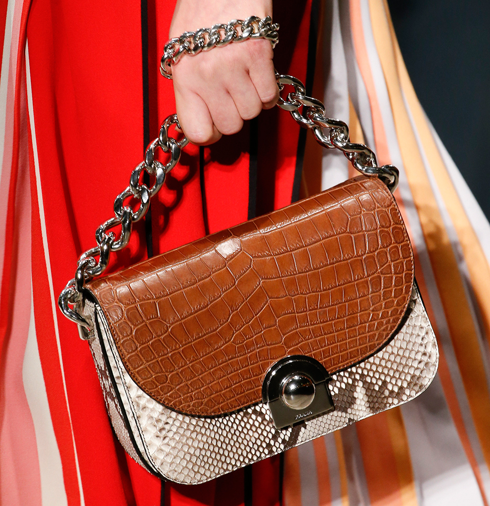 b68b4dd717ad Prada Maintains a Strong Trajectory with Its Spring 2016 Runway Bags ...
