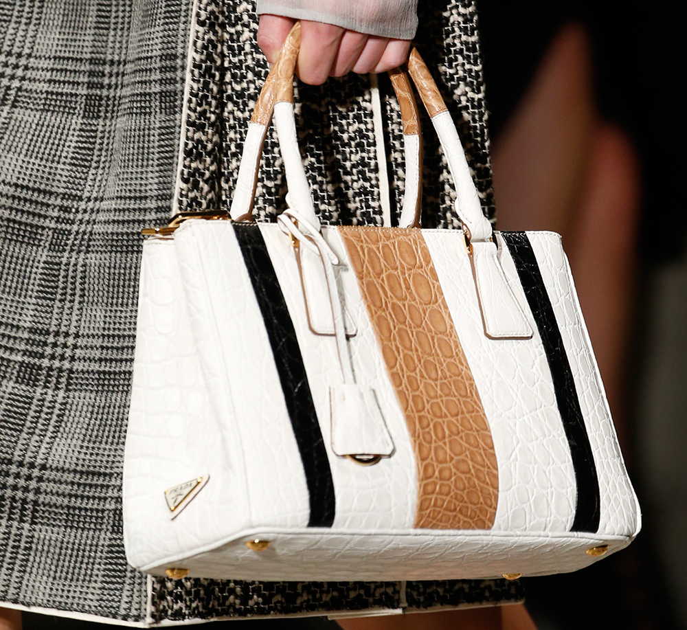 a689a345f737f6 Prada Maintains a Strong Trajectory with Its Spring 2016 Runway Bags ...