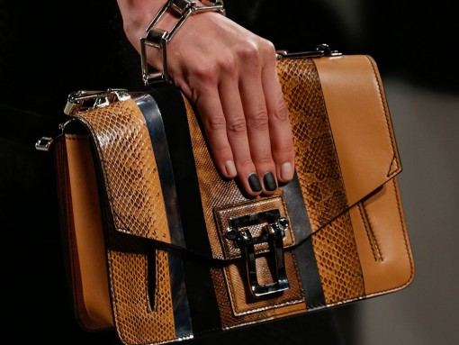 Check Out Proenza Schouler's New Shoulder Bag, Straight From the Spring 2016 Runway