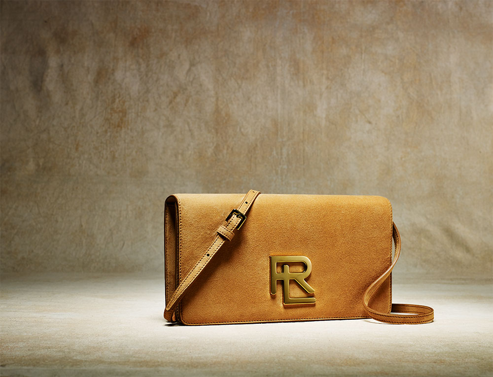 Ralph Lauren RL Clutch in Caramel, $1,200