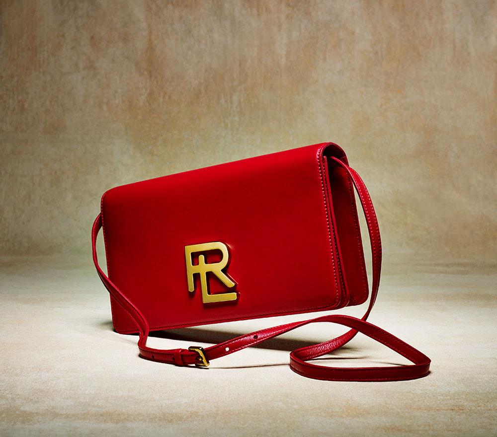 Ralph Lauren RL Clutch in Red, $1,200