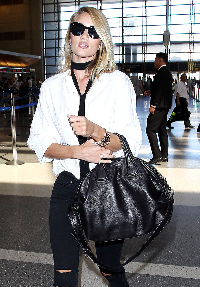 2a413d4795 Rosie-Huntington-Whiteley-Givenchy-Nightingale-Bag - PurseBlog