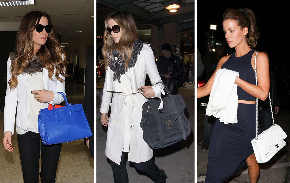 d440f930f99 The Many Bags of Kate Beckinsale - PurseBlog