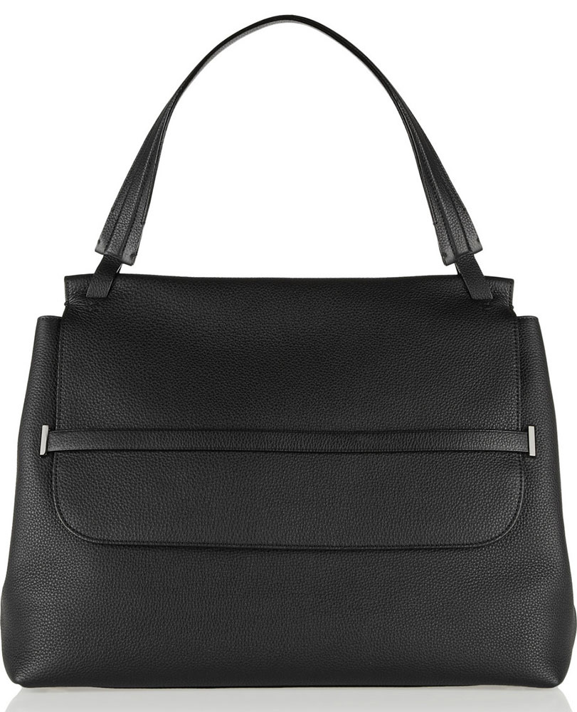 The-Row-Leather-Shoulder-Bag
