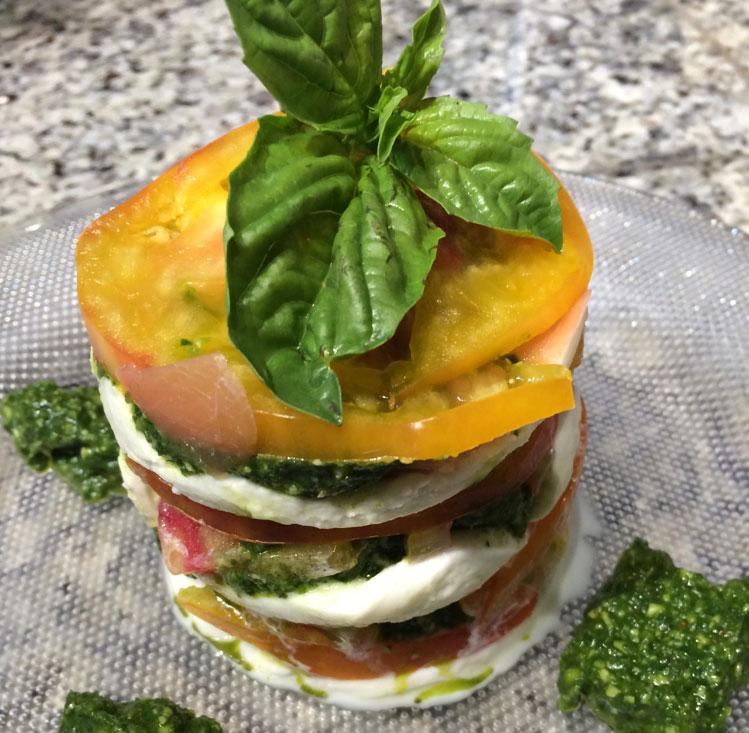 Tomato-Mozzarella-Stack