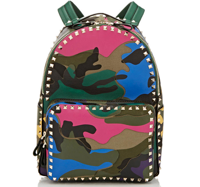 Valentino-Rockstud-Camouflage-Backpack