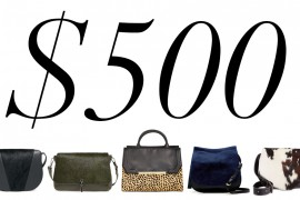 5 Under $500: Luxe Calf Hair Bag