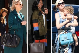 Celebs Rely on Céline, Givenchy & Valentino to Fulfill Their Bag Needs This Week