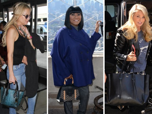 Celebs Surprised Us with New, Novel and Surprisingly Affordable Bag Choices This Week