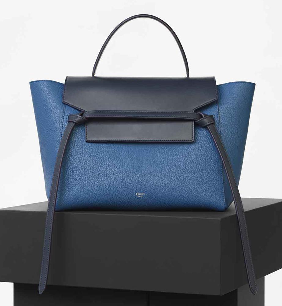 Celine Bicolor Belt Bag