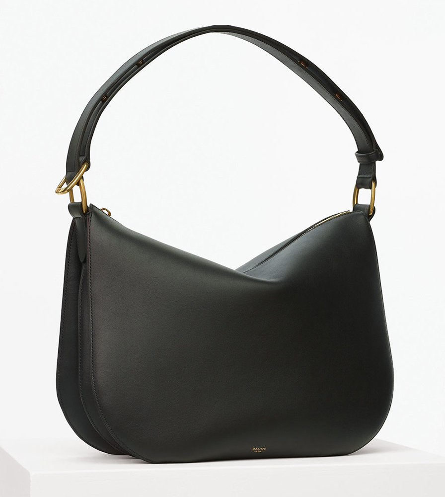Celine-Medium-Saddle-Bag-Black-2550