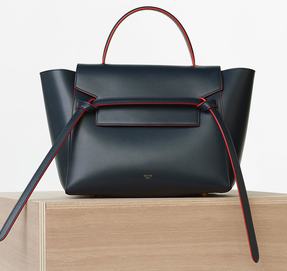 Celine-Mini-Belt-Bag-Navy