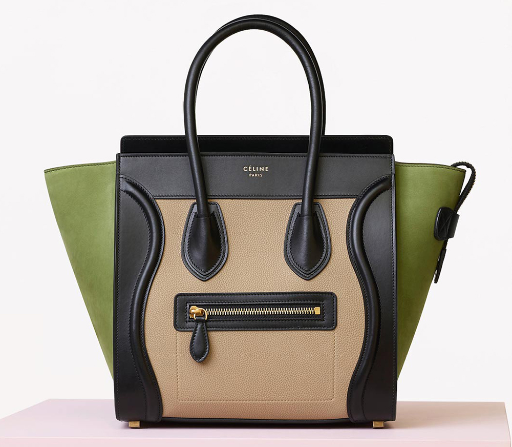 Celine-Multicolor-Micro-Luggage-Bag