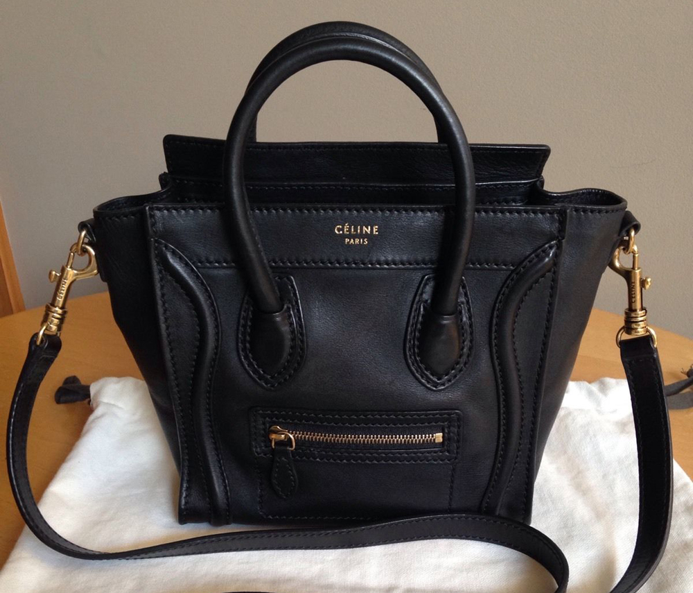 celine shopper tote bag - eBay\u0026#39;s Best Bags and Accessories - October 21 - PurseBlog
