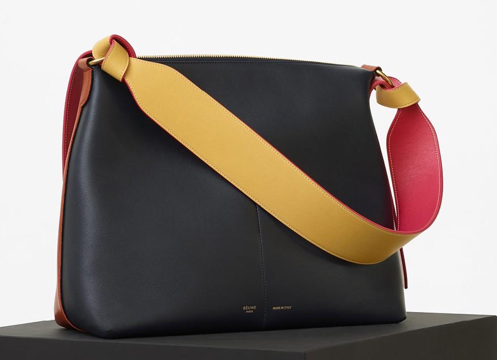 Celine-Zipped-Twisted-Cabas-Bag