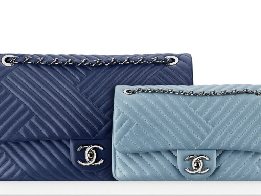 Chanel Blue Flap Bags