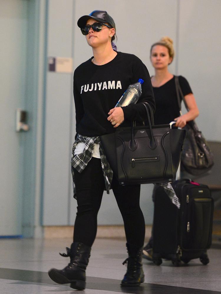 Demi-Lovato-Celine-Luggage-Tote-1