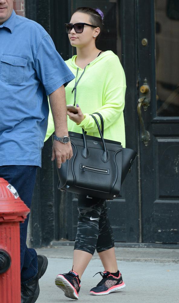 Demi-Lovato-Celine-Luggage-Tote-10