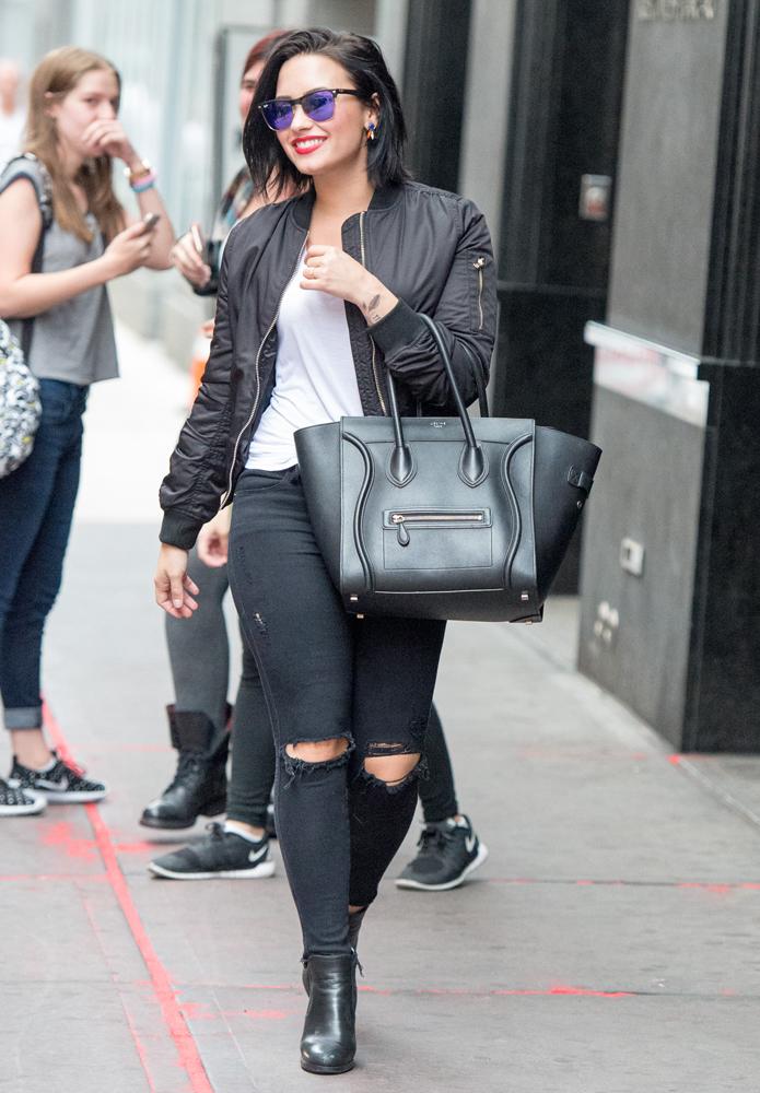 Demi-Lovato-Celine-Luggage-Tote-2
