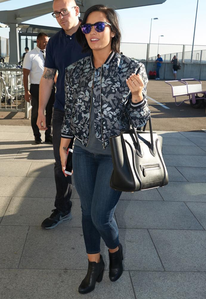 Demi-Lovato-Celine-Luggage-Tote-6